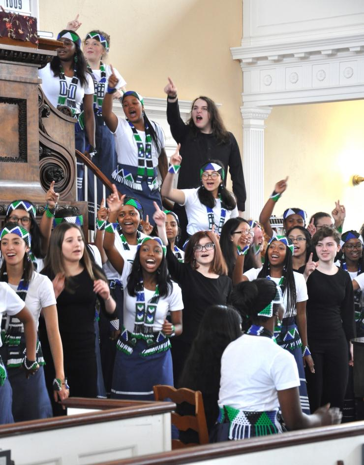 Boston Children's Chorus and Roedean Girls Choir