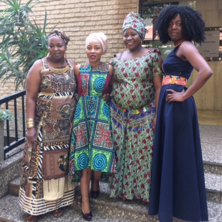 South Africa Partners staff in Johannesburg celebrating Heritage Day