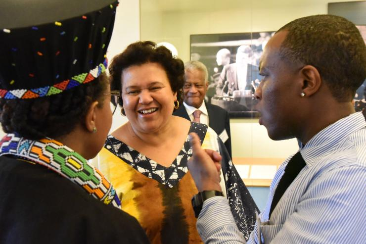 Elinor Sisulu at Mandela Centenary Reception